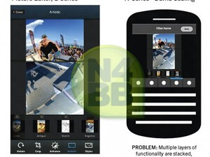 New slides show off RIM's BlackBerry 10 photo editing app further