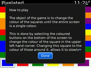 Free BlackBerry Game Pixelated Expands Feature And Device Support