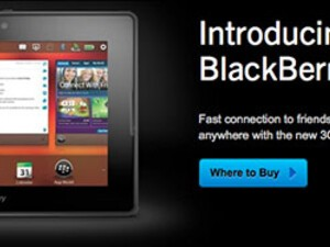 BlackBerry PlayBook 3G+ now available in the UK