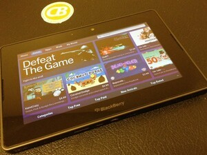 A look at the redesigned BlackBerry App World UI coming with PlayBook OS 2.0