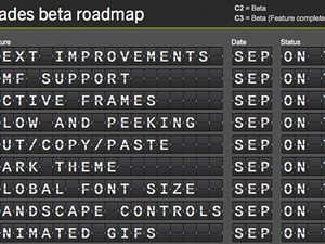 RIM shares BlackBerry 10 Cascades and WebWorks Beta roadmaps