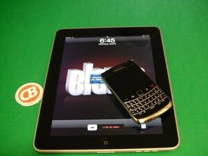 Got an iPad you want to tether with your BlackBerry? Maybe this can help