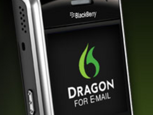 Dragon dictation for email updated - Now supports BlackBerry Tour smartphones