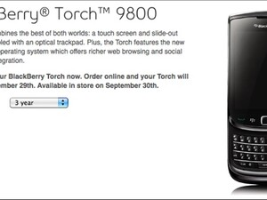 Bell launches BlackBerry Torch for online sales only!
