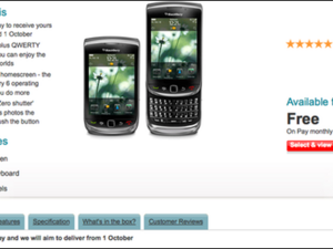 Vodafone UK delays the release of BlackBerry Torch as well