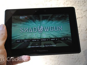 Shadowgun for the BlackBerry PlayBook now available for free