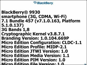 Sprint now rolling out BlackBerry 7.1 for the BlackBerry Bold 9930