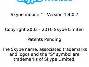 Skype Mobile for BlackBerry updated to v1.4.0.7