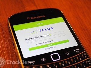 TELUS releases My Account application for select BlackBerry devices