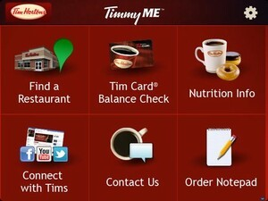 TimmyMe - The official Tim Hortons app updated with a new UI