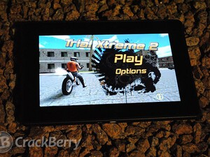 Union brings some motorcycle stunt action to the BlackBerry PlayBook with the release of Trial Xtreme 2