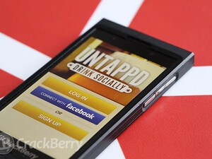Cheers! Native Untappd app has arrived on BlackBerry 10