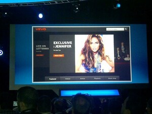 VEVO video app coming to the BlackBerry PlayBook