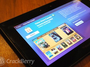 Video Store for the BlackBerry PlayBook now available in Canada