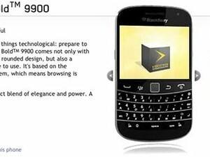 Videotron releases the BlackBerry Bold 9900