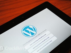 WordPress for PlayBook updated to v2.2.4, includes support for BlackBerry 10