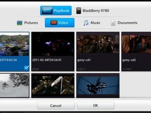 How to upload a video directly to YouTube from your BlackBerry PlayBook