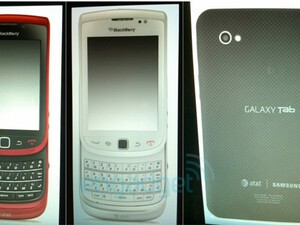 Red & White BlackBerry Torch 9800's coming to AT&T