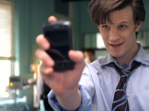 Doctor Who Rocks A Debranded BlackBerry Storm