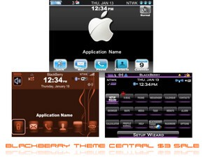 BlackBerry Theme Central's $3 Theme Sale!
