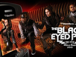 BlackBerry Sponsoring Black Eyed Peas World Tour