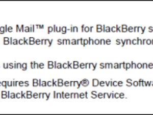 BlackBerry Internet Service 3.0 Details Leaked... Again