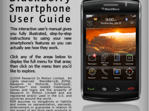 BlackBerry Smartphone User Guide for the BlackBerry Storm2 9550 Now Available