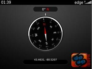 BlackBerry Digital Compass - A closer look