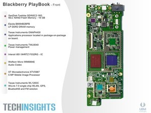 Tech Insights tears down the BlackBerry PlayBook