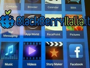 New battery and homescreen for upcoming BlackBerry 10 devices spotted
