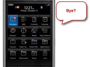Analysts Claim BlackBerry Storm To No Longer Be Sold By Verizon?