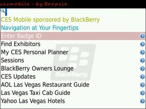Headed To CES 2010? Be Sure To Grab CES Mobile For BlackBerry