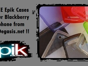Enter To Win 1 Of 15 Epik Cases For Your BlackBerry Smartphone