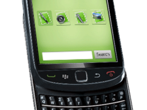 Evernote updated to include support for BlackBerry 6 devices