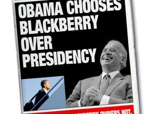 The Funny Side Of Obama's BlackBerry Predicament!