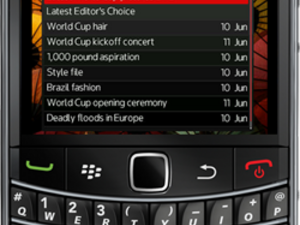 Reuters Galleries now available as a free BlackBerry app