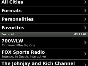 iHeartRadio-Now Available For  BlackBerry Storm!