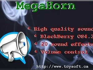 Contest: MegaHorn by ToySoft - Win one of 30 free copies!