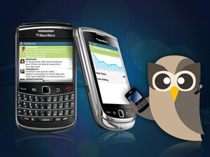 HootSuite for BlackBerry updated to version 0.3.11