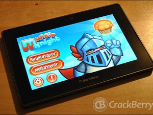Union brings Muffin Knight to the BlackBerry PlayBook for free!