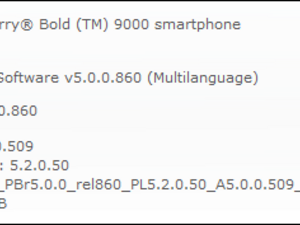 Official OS 5.0.0.509 For The BlackBerry Curve 8520, 8900 And Bold 9000 From WIND Hellas