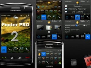 Pooter Pro 2 - A unique BlackBerry 6 styled theme that rocks!