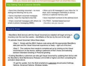 AT&T Supports Visual Voicemail With Upcoming OS 4.6.0.297 Release