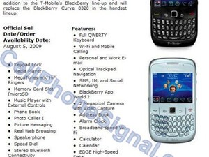 Imminent Launch Of BlackBerry Curve 8520 August 5th