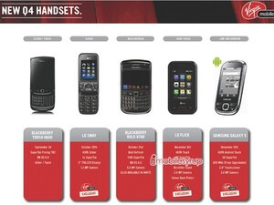 Virgin Mobile holiday line up confirms BlackBerry Bold 9780 launch date and pricing