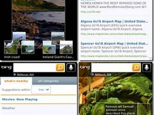 Bing for BlackBerry updated adding many new features