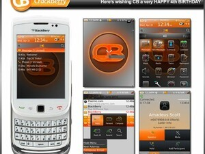 Free Theme: Celebrate CrackBerry's birthday with CrackBerry Torch by Global Torch Themes
