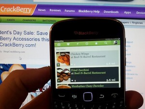 [Updated] Foodspotting for BlackBerry - Brings new icon, UI, and better performance