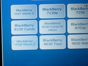 BlackBerry Storm 3 9570 found in Best Buy's Mobile Genie system