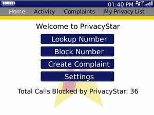 PrivacyStar Updated to v1.0.50.2 - Now Available in CrackBerry App Store